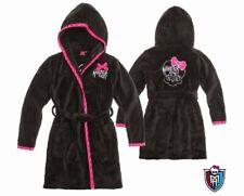 Monster High Bademantel Kapuze Badehandtuch Handtuch schwarz Fleece