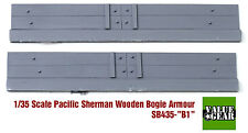 1/35 Pacific Sherman Wood Bogie Plank Armor M4A3 Set #B1 - Value Gear SB435