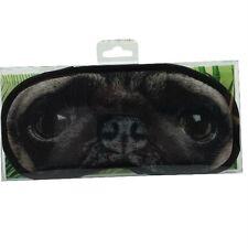 Novità Occhi Maschera-Pug Dog Sleep scherzo con gli occhi bendati viaggio Regalo Accessorio Adulto