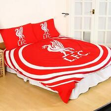 Liverpool 'Pulse ' Double Duvet Cover Bedding Set Reversible Quilt Cover