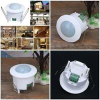 Recessed 360 Degree PIR Ceiling Occupancy Motion Sensor Detector Light Switch NW