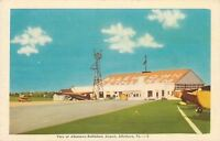 Allentown-Bethlehem Airport~Pennsylvania~1930s Planes~Windsock~Hangar~Linen PC