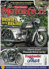 CLASSIC MOTORCYCLE-November 2021 *UK/EU Postage Included