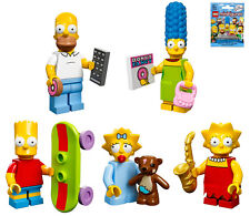 LEGO 71005 THE SIMPSONS Set of 5 Family Members: Homer Marge Bart Liza Maggie