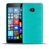 Schutz Hülle für Microsoft Lumia 540 Silikon Case Handy Tasche Cover Bumper