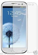 3 x chiara ANTERIORE PROTEGGI SCHERMO per Samsung Galaxy S Iii Gt-i9305
