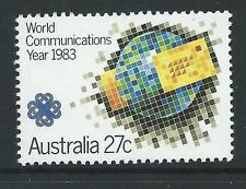 1983 Australia~World Communications~Unmounted Mint~Stamp Set~ UK Seller~