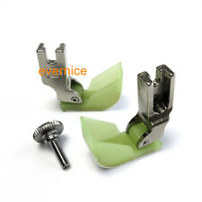 2 New Style Ship Quilting Presser Foot Plastic For Industrial Sewing Machine