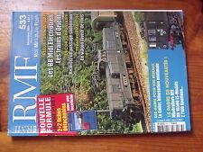 $$v Revue RMF N°533 BB Midi Electrotren  Passage souterrain  Wagon laveur rails
