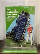 NEW RadioShack 3-in-1 Universal TV Remote Control In Golf Bag *NEW* Mo. 15-2127