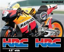 "2x HRC honda Stickers 4.5"" CBR,RC31,Repsol DECALS Logo stickers MotoGP"