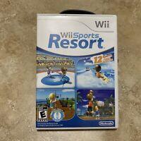 Rare Nintendo Wii Wii Sports Resort Cib Complete Tested