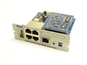 ConnectUPS-X Web SNMP xHub Card 5571-00010.B4 5571.0031.A0