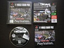 F1 WORLD GRAND PRIX Saison 1999 : JEU Sony PLAYSTATION PS1 / PS2 (Eidos COMPLET)