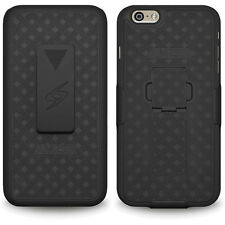Shell Holster Belt Clip Case Cover For Apple iPhone 6 4.7 + Screen Protector