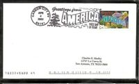 US SC # 3588 Greetings From America FDC - Nevada -  No Cachet 1