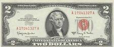 2 DOLLARS US 1963 S/N A 17041327 A