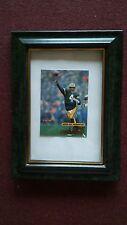 Brett Favre Fleer Ultra 2001 5 of 38 framed CARD HALL OF FAMER