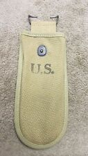 US WW2 WIRE CUTTER POUCH KHAKI EARLY WAR 1942 DATED NOS NOT REPRO!