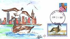 #RW64 Canada Goose Fox FDC (0561997RW64001)