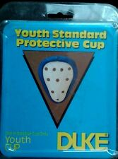 NEW Youth Duke Athletic Sports  hard Cup  White  1 size  fits  most