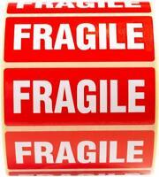 Fragile Étiquettes 100 Mise en Carton Stickers This Way Up