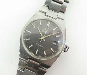 Vintage 1972 Omega Automatic Geneve Cal 1481 Wrist Watch 166 0099 NO RESERVE