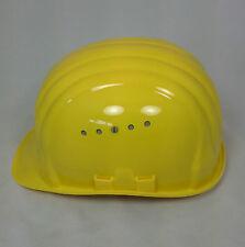 Schuberth Bauschutzhelm 80/4 4Pkt Gurtband Baumeister Schutzhelm Helm gelb NEU