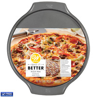 Homow Set Of 2 Non Stick 11 Inch Pizza Pan Quiche Pan