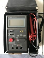 Extech 380360 Insulation Tester With Leads And Case 1000v 2000 Megohm