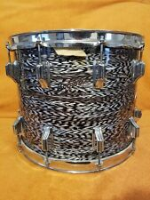 Rogers Vintage Dynasonic 1960's Dyna sonic 15 12 Marching Snare White Onyx Rare