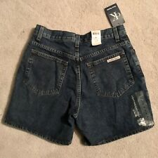 Vintage 90s NWT Calvin Klein Denim Shorts Sz 6