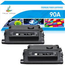 2PK CE390A 90A Toner Compatible for HP LaserJet Enterprise 600 M601 M602 M603