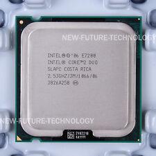 Intel Core 2 Duo E7200(EU80571PH0613M)SLAPC SLAVN SLB9W CPU 1066/2.53GHz LGA 775