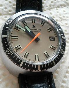 Uhren-Vintage Junghans Diver Automatic 60/70er Jahre Herren