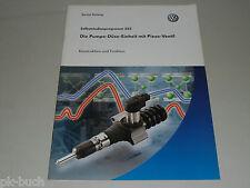 SSP 352 VW Selbststudienprogramm Service Training Pumpe-Düse mit Piezo Ventil