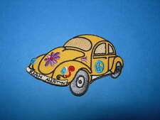 `VW BETTLE` SEW OR IRON ON PATCH