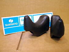 New-Old-Stock Shimano Brake Lever Hoods w/o Extension Cut-outs (Non-Aero)..Black