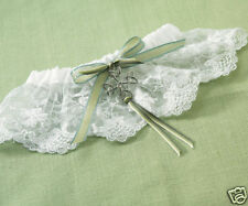 BEAUTIFUL CELTIC CHARM GARTER/NIP