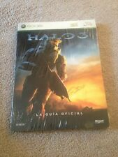 Halo 3 Official Strategy Guide Book Sealed Rare Spanish Edition La Guia Oficial