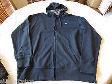 Mens Hurley long sleeve shirt NEW hoodie jacket Flammo Solid zip M MFT0002390