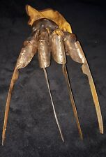 Freddy Krueger Replica Garra 1:1 metal y cuero