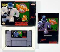 Super NES Interplay CLAYFIGHTER 24 MEG TOURNAMENT EDITION us NTSC Ovp Nintendo