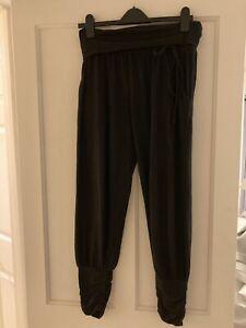 Hush Black Harem Pants Trousers Size S
