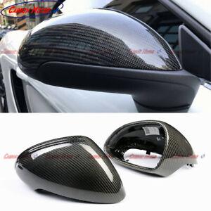 Carbon Fiber Mirror Cover for 13-16 Porsche Cayman 781 911 996 Boxter CF Casing