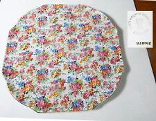 "Lord Nelson MARINA CHINTZ 10 7/8"" Cake Plate - Nice !!"