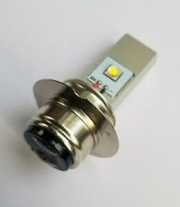 P36D BPF LED Headlight bulb 5v-30v DUAL POLARITY: BMC Triumph Norton Ariel etc