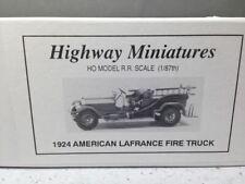 HO 1:87 Jordan Miniatures # 237 - 1924 American La France Fire Truck KIT