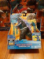 "Playmates Monsterverse Godzilla vs Kong 15cm 6"" Hong Kong Battle Godzilla RARE"