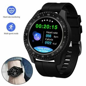 Sport Bluetooth Smart Watch Heart Rate Monitor Phone Mate for iPhone LG Samsung